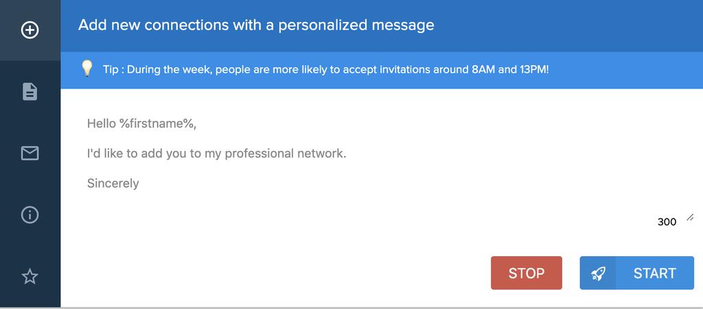 Automatiseer LinkedIn verzoeken met Linkr