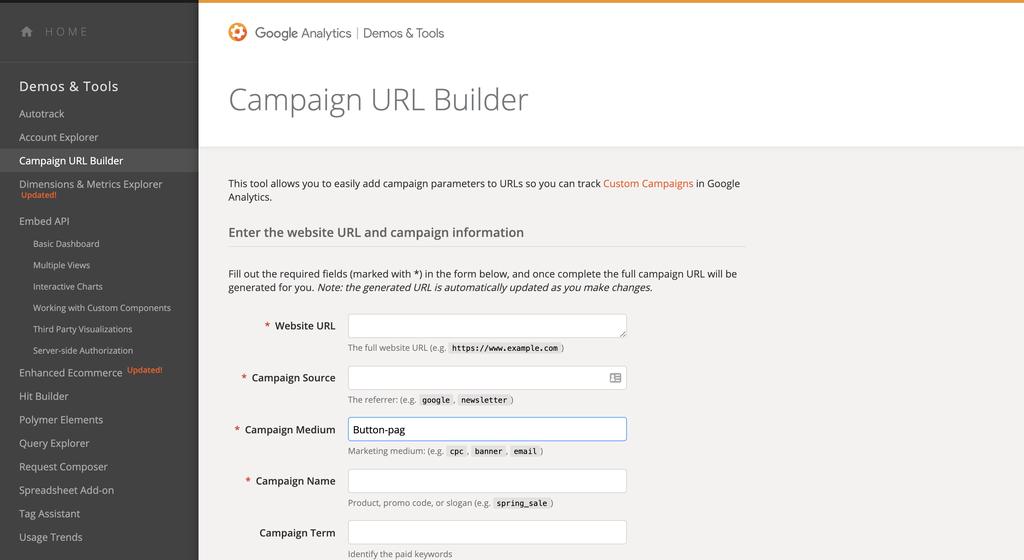Maak sneller UTM-tags met Google Campaign URL Builder