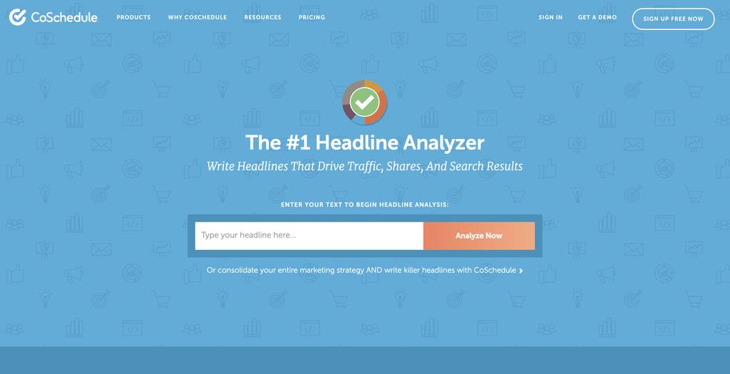 Maak titels waar mensen op klikken met Headline Analyzer