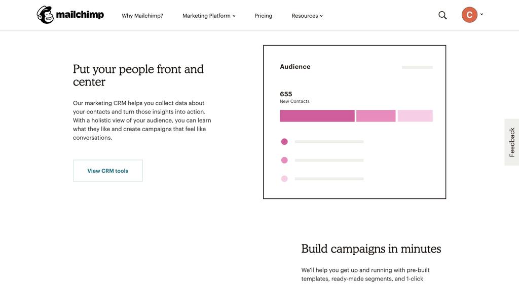 Mailchimp is een gratis e-mailmarketing tool