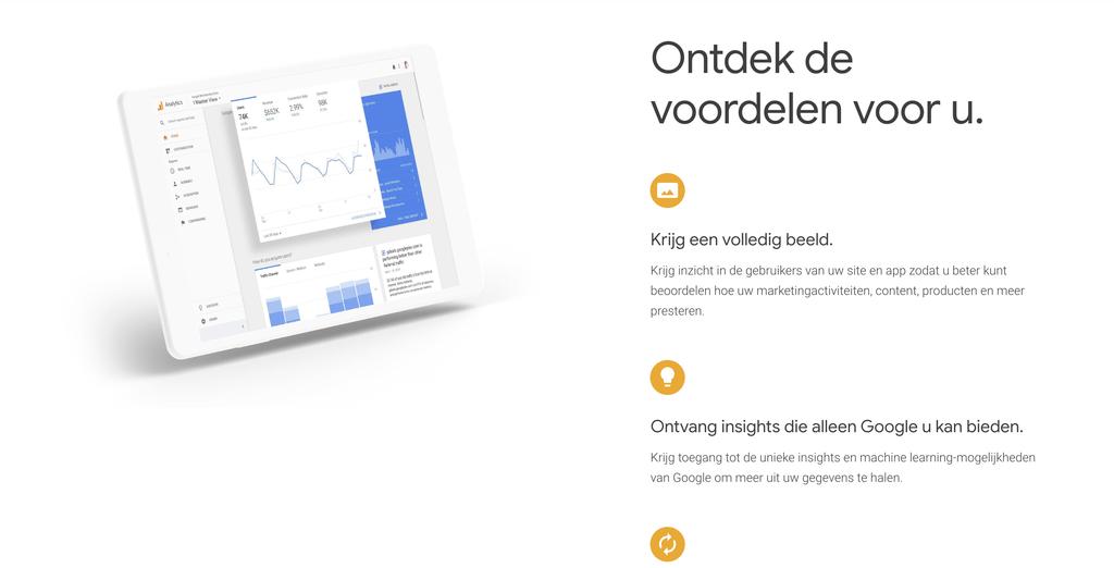Ontdek wat je bezoekers doen op je website met Google Analytics