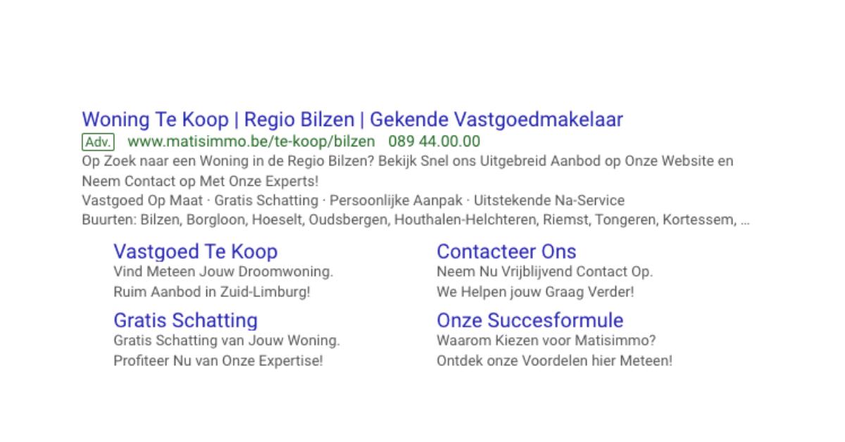Google Adwords gebruiken